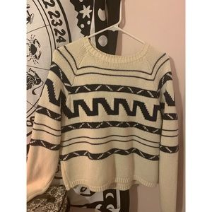 Forever 21 Cream Sweater
